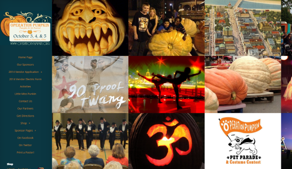 Operation Pumpkin Website Design & Management