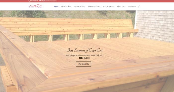 Web design for home improvement company web design seo Best home improvement website design