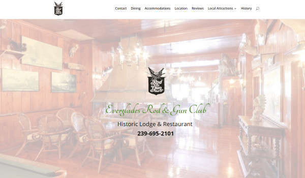 Everglades Rod & Gun Club Website