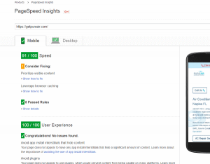 google seo page speed