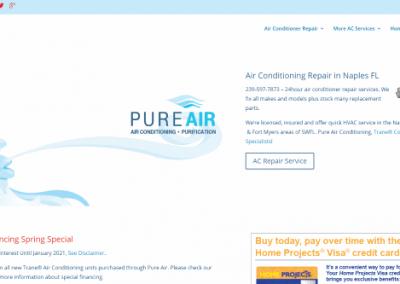 Website Design for Naples Company