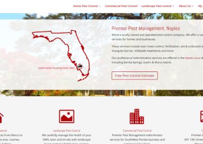 Web Design for Naples Company