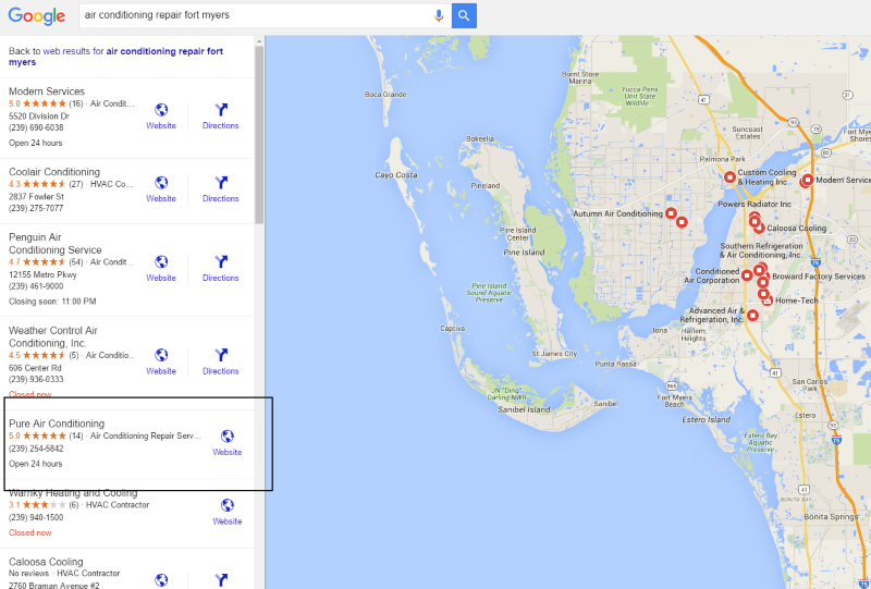 Fort Myers Local SEO Services