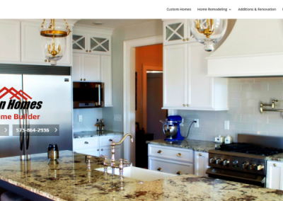 WordPress Design, SEO, Home Contractor