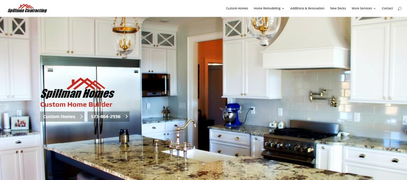 Mobile Web Design for Home Builder