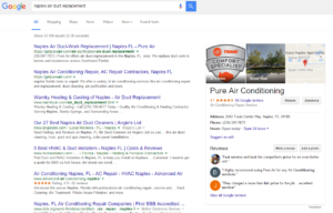 naples local seo services result