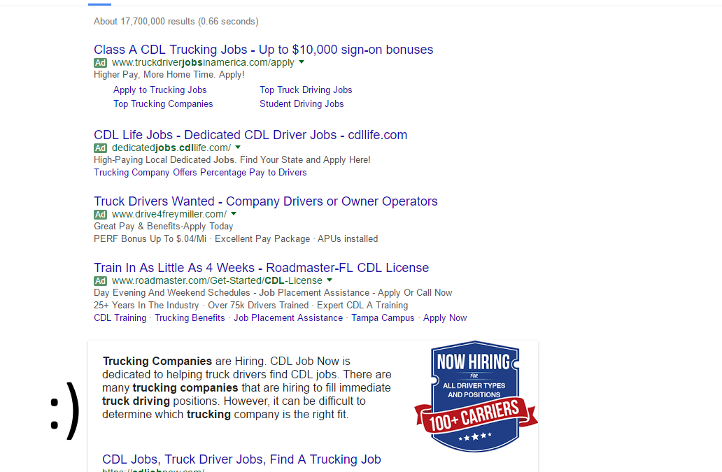 SEO Consulting Result, Rich Snippets