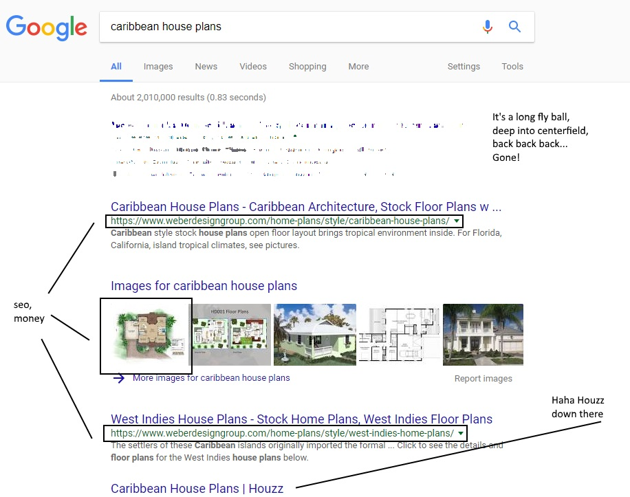 Top SEO Results for Naples Client