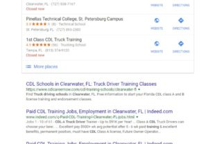 clearwater seo results