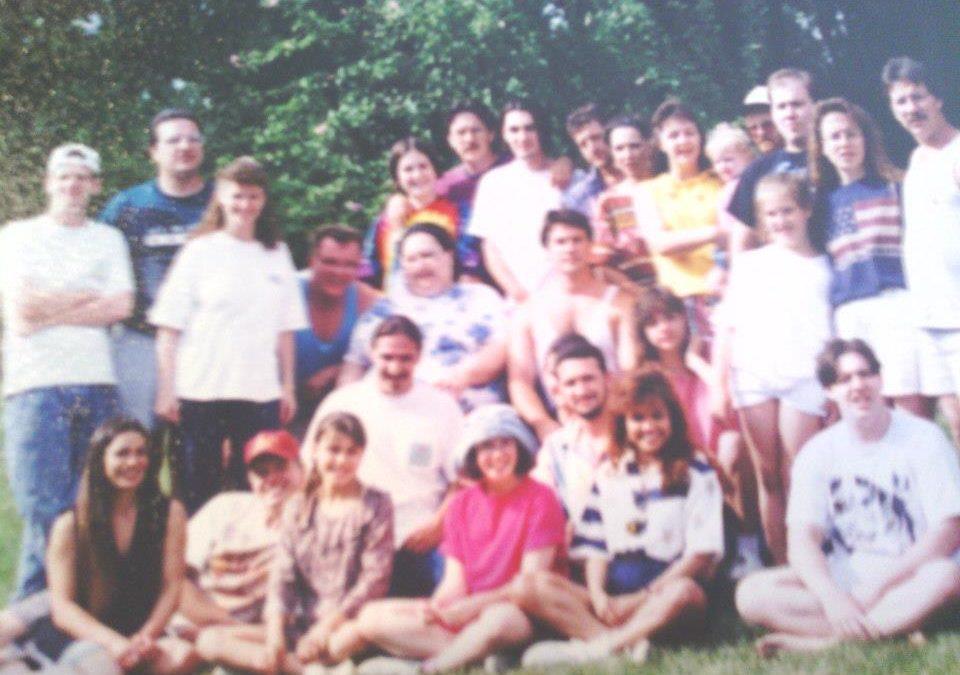 Hall Family Reunion, Ohio.