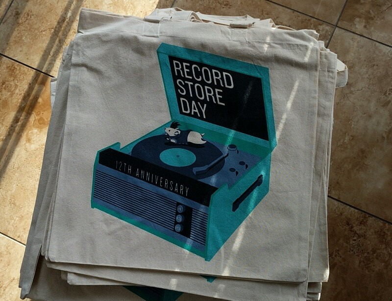 record store day 2019 canvas bag